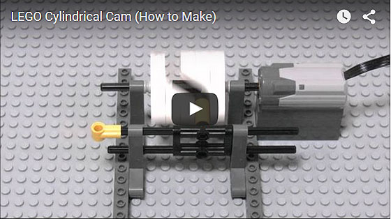 LEGO Cylindrical Cam (How to Make)
